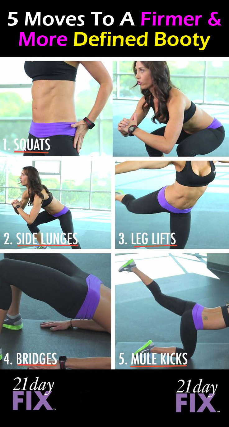 Get a firmer booty with this simple to follow exercise! Check it out here: