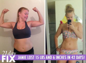 21 day fix results jamie