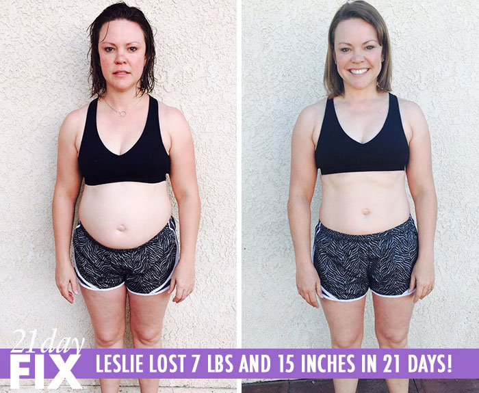 Leslie Gained Control of Her Life & Lost 7 LBS