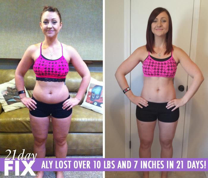 Amy Lost 10 LBS & Found the 21 Day Fix Simple to Follow