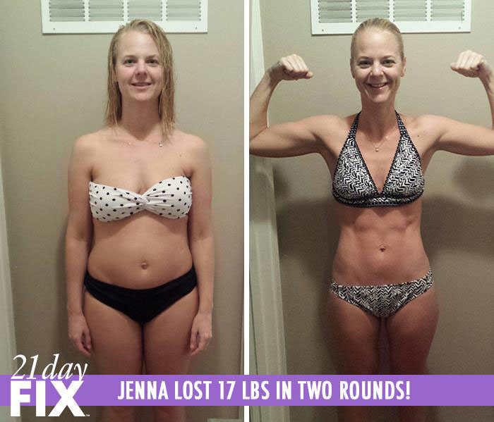 21 day fix review - jenna