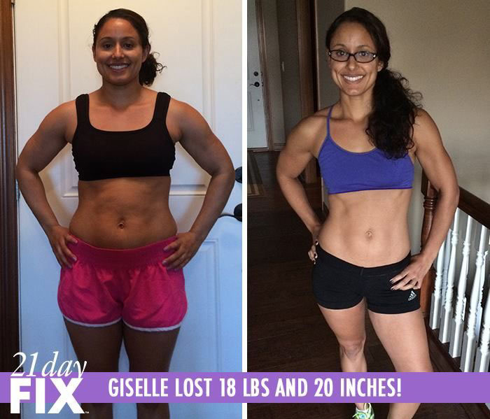 21 day fix reviews- giselle