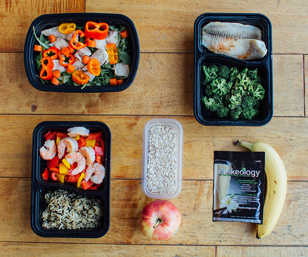 Meals for Tuesday and Thursday