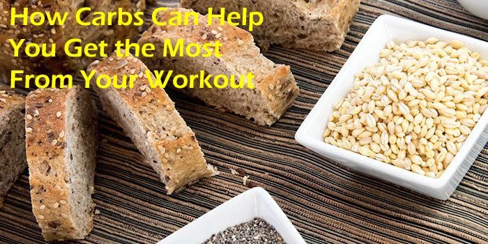 Carbs can help you push further and get the most from your workout.