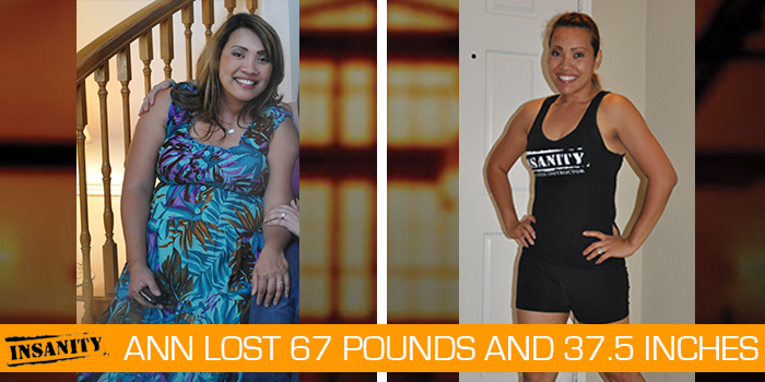 Ann Insanity review - Lost 67 pounds with 3 rounds of Insanity!