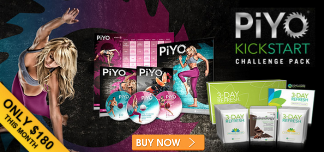 Lose Weight faster with the 3 Day Refresh and the PiYo Challenge Pack!