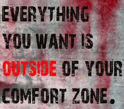 Push beyond your comfort zone to make extreme changes.