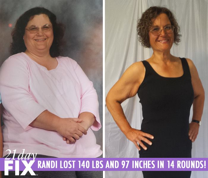 Randi Lost 140 LBS in Less Than a Year
