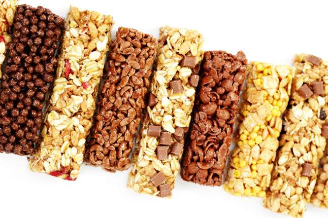 Stay away from protein bars full of sugar!